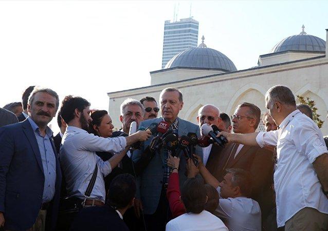 Cumhurbaşkanı Recep Tayyip Erdoğan / Ramazan Bayramı namazı