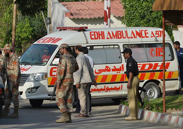 Pakistan ambulans