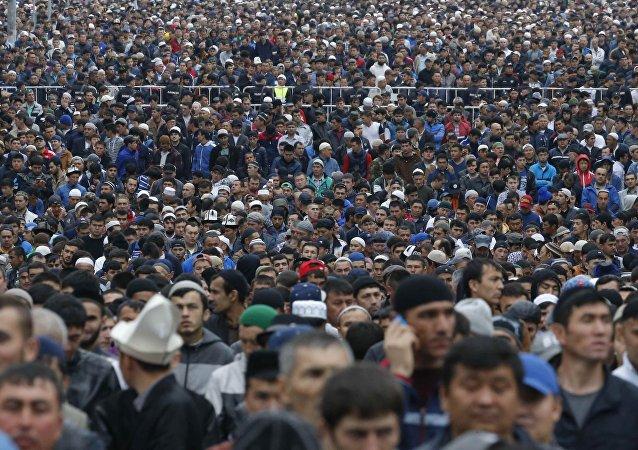 Moskova'da Ramazan Bayramı