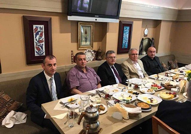 Moskova'da Türk iş dünyası bayramlaştı
