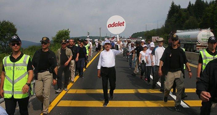 Bekaroğlu: Bir AKP vekili organizasyonuyla Adalet Yürüyüşünü tahrik edici eylemler yapma kararı alındı 57