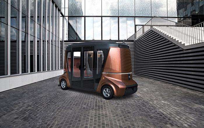 Rusya'nın ilk şoförsüz minibüsü test ediliyor