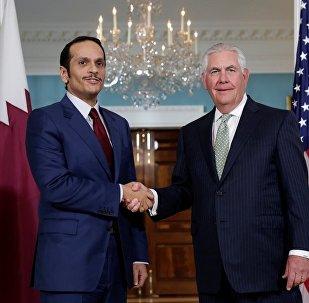 Katar Dışişleri Bakanı Şeyh Muhammed bin Abdurrahman El Sani - ABD'li mevkidaşı Rex Tillerson