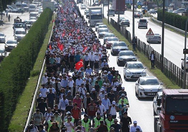 Adalet Yürüyüşü'nün 14. günü - CHP lideri Kemal Kılıçdaroğlu