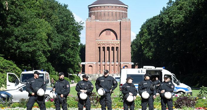 Hamburg-Alman polisi