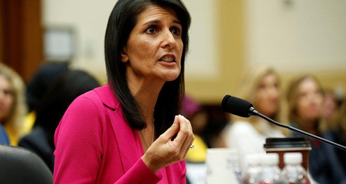 ABD'nin BM Daimi Temsilcisi Nikky Haley