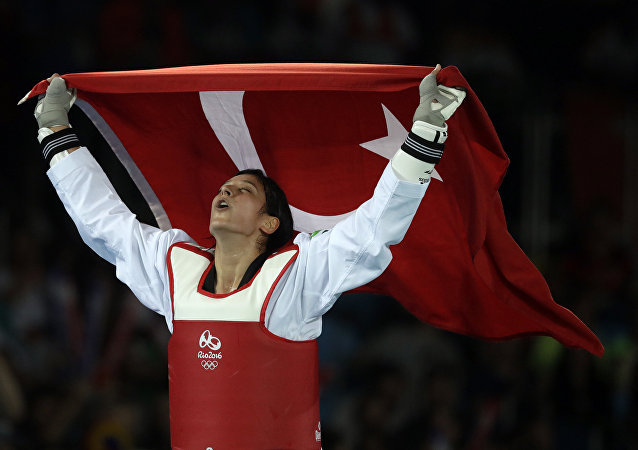 Türk tekvandocu Nur Tatar