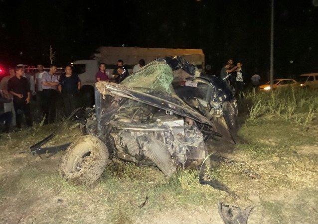 Afyonkarahisar'daki kazada 4 kişi öldü