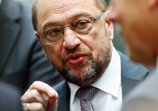 SPD lideri Martin Schulz