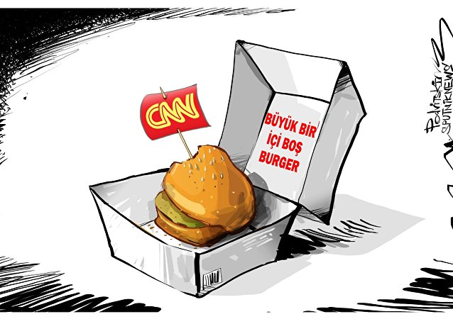 CNN sunucusu: Rusya iddiaları 'büyük bir içi boş burger'