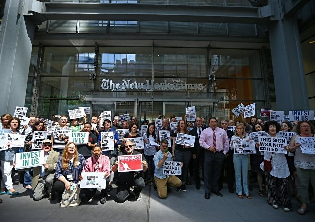 New York Times çalışanlarından 'geçici iş durdurma' kararı