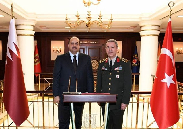 Katar Savunma Bakanı Halid Bin Muhammed el Atiyye-Org. Hulusi Akar