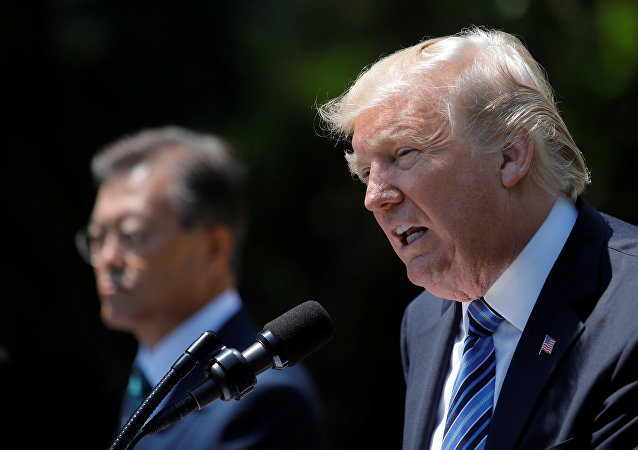 Moon Jae-in-Donald Trump