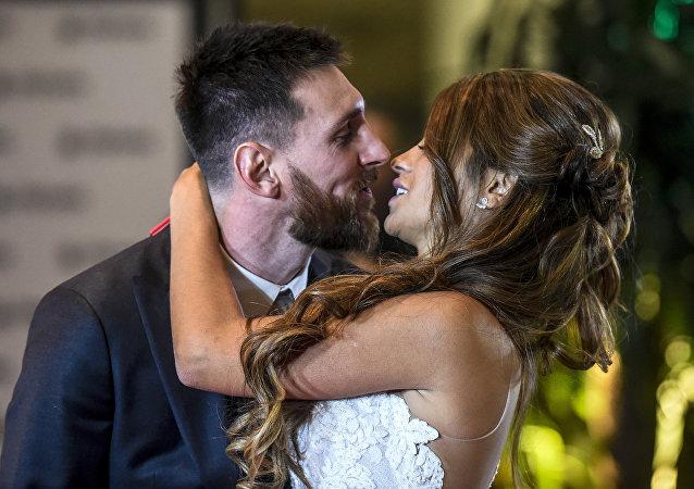 Lionel Messi evlendi
