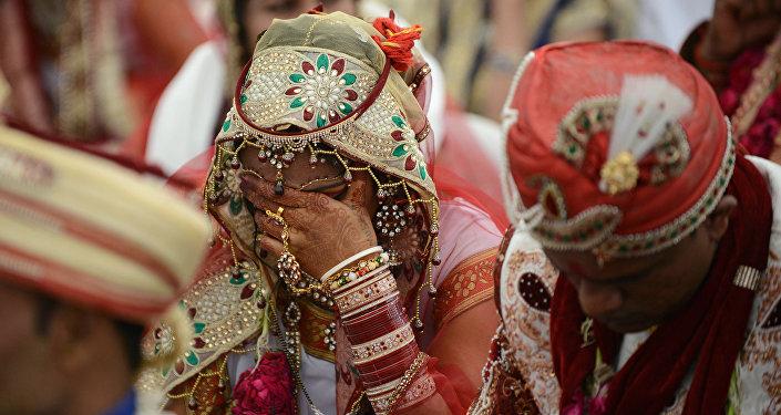 Hindistan'da düğün