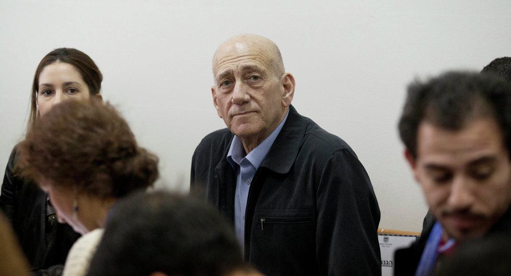 Eski İsrail Başbakanı Ehuz Olmert
