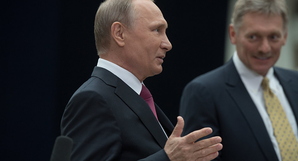 Rusya Devlet Başkanı Vladimir Putin- Kremlin Sözcüsü Dmitriy Peskov