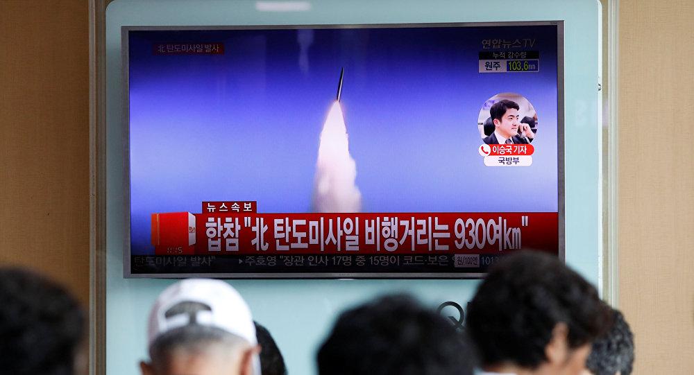 Kuzey Kore, 4 Temmuz 2017'de ilk kıtalararası füze denemesini yaptığını açıkladı.