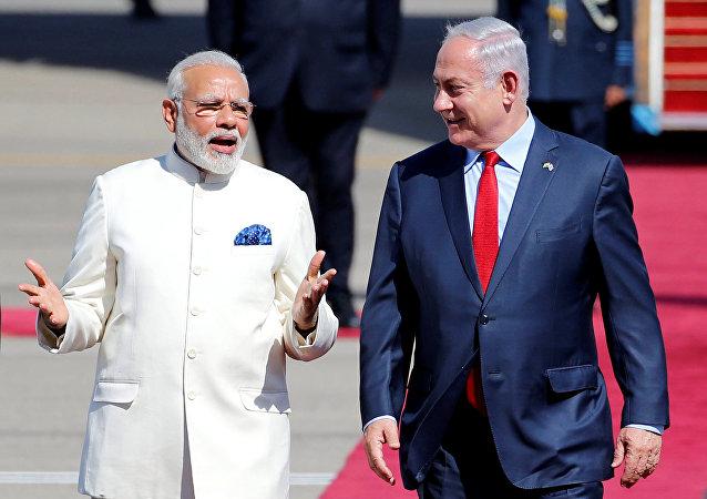 Narendra Modi - Benyamin Netanyahu