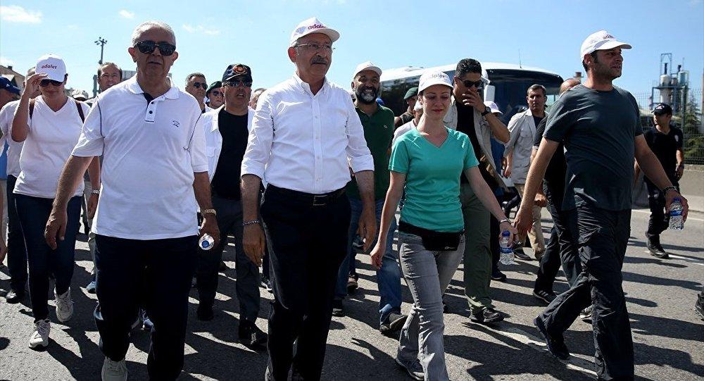 Kılıçdaroğlu,Berberoğlu'nuziyaretiçinMaltepeCezaevi'nde