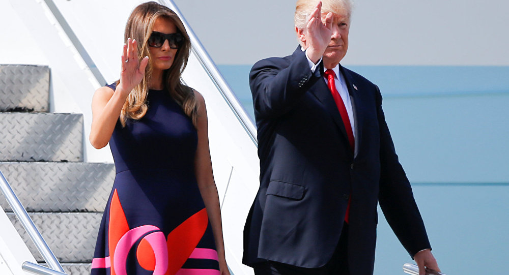 Melania Trump-Donald Trump