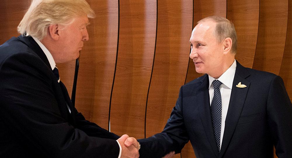 Rusya Devlet Başkanı Vladimir Putin ile ABD Başkanı Donald Trump G20 Zirvesi'nde