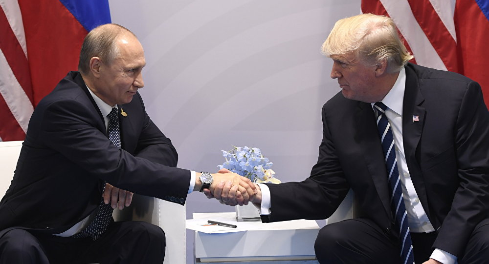 Rusya Devlet Başkanı Vladimir Putin - ABD Başkanı Donald Trump