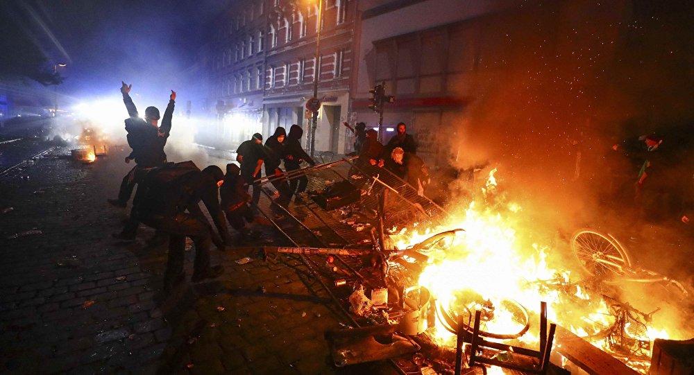 Hamburg'da G20 protestoları