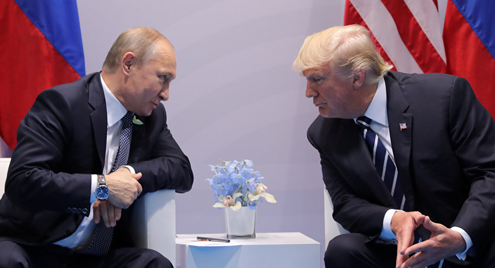 Donald Trump - Vladimir Putin / 2017 G20