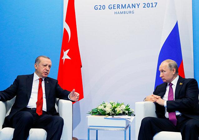 Recep Tayyip Erdoğan - Vladimir Putin / G20 2017