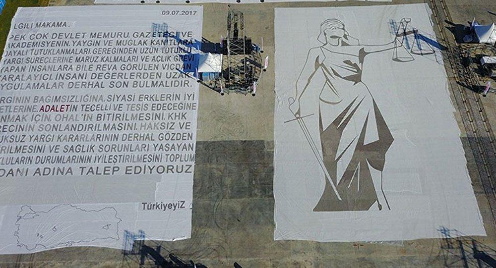 'Adalet Yürüyüşü'