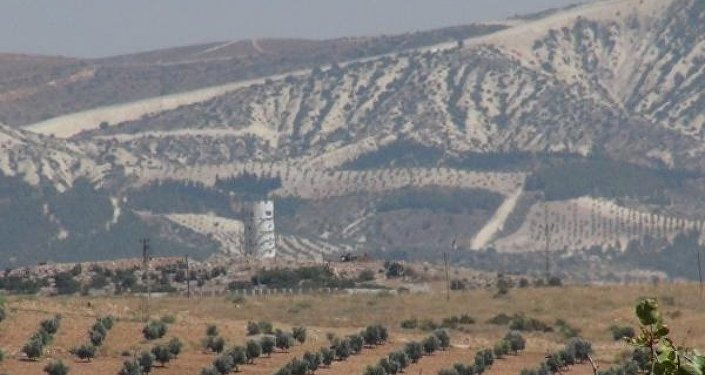 Suriye sınırı gözetleme-kuleleri