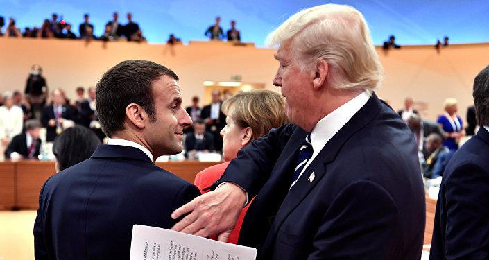 Donald Trump - Emmanuel Macron