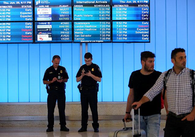 ABD-Los Angeles Uluslararası Havalimanı