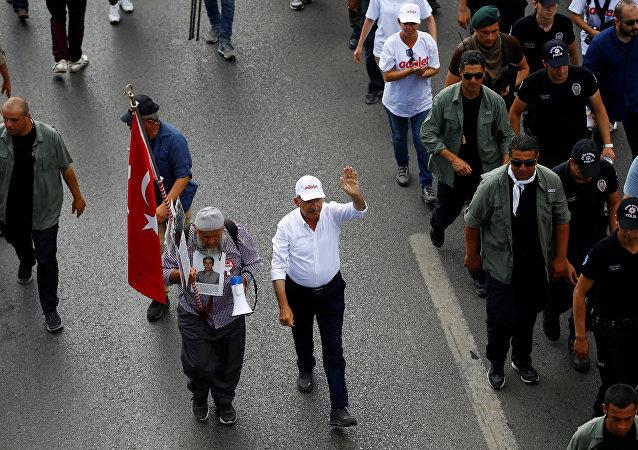 Adalet Yürüyüşü / Kemal Kılıçdaroğlu - Veysel Kılıç
