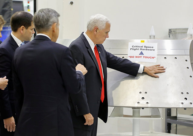 Mike Pence / NASA Kennedy Uzay Merkezi
