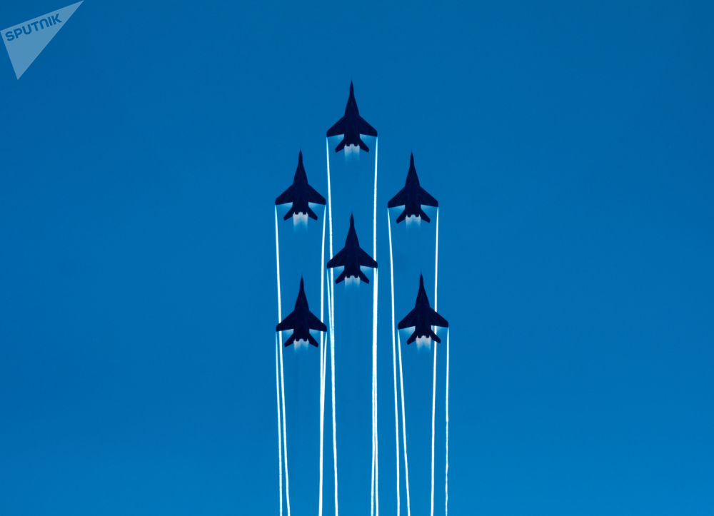 St. Petersburg'da Rusya Hava Uzay Kuvvetleri'nin 105. kuruluş yıldönümü etkinlikleri