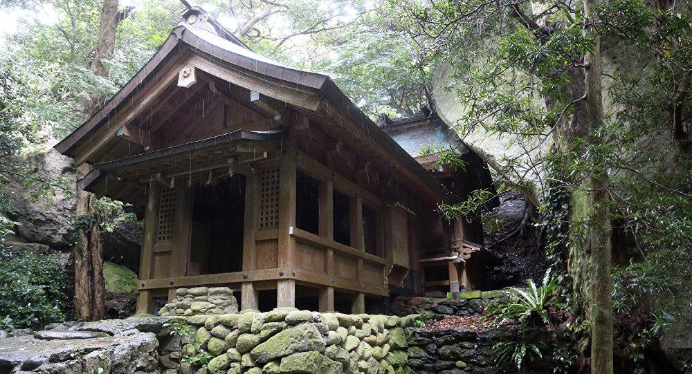 Okitsugu tapınağı, Okinoshima