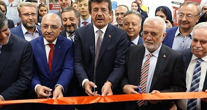 Ekonomi Bakanı Nihat Zeybekci - Tahran'daki Türk Ticaret Merkezi'nin açılışı