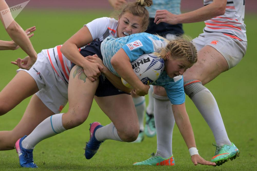 Rus kadın takımı Avrupa Rugby-7 Şampiyonu oldu