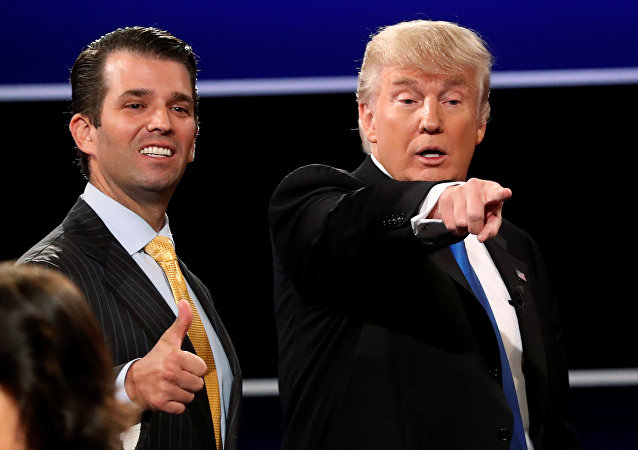 Donald Trump Jr. ve Donald Trump