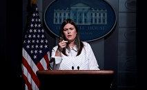 Beyaz Saray Sözcüsü Sarah Huckabee Sanders