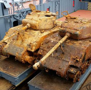 Barents Denizi'nden çıkarılan iki Amerikan tankı