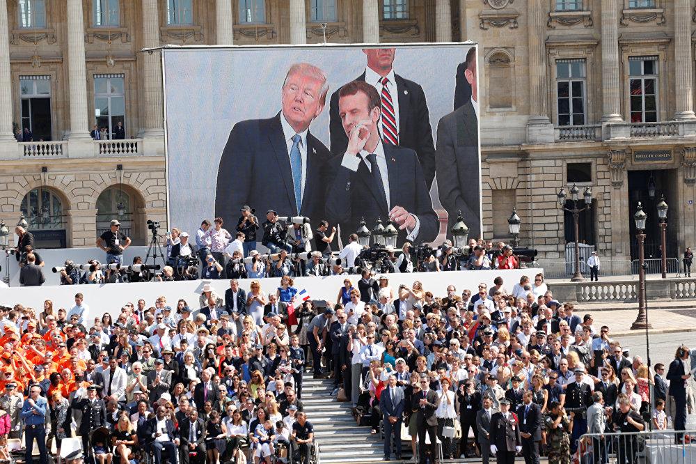 Bastille Günü / Donald Trump - Emmanuel Macron