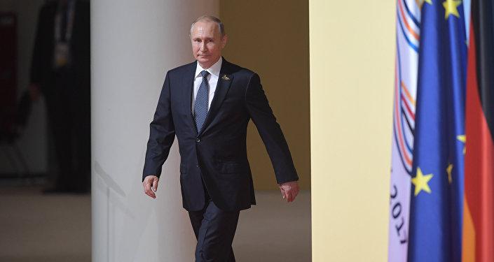 Rusya Devlet Başkanı Vladimir Putin- G20