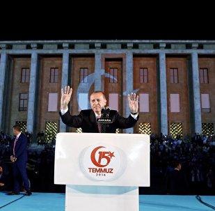 15 Temmuz'un 1. yıldönümü - Recep Tayyip Erdoğan - Ankara