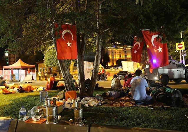 15 Temmuz'un 1. yıldönümü - İstanbul - Saraçhane