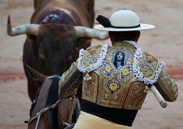 İspanya/ Boğa güreşi - Matador