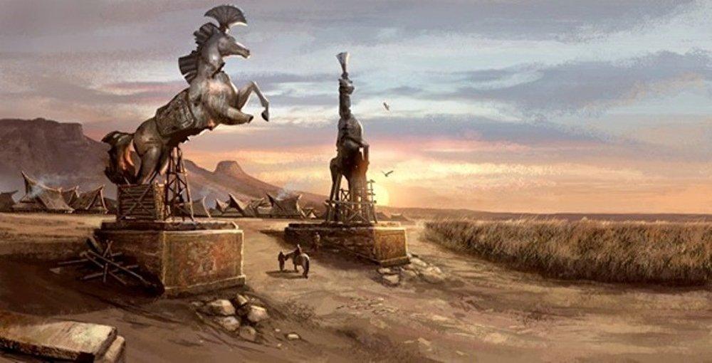 Dizideki Dothrakiler, Ortaçağ döneminde Rusya üzerinde büyük etkiler bırakan Moğollar'ı andırıyor. 13. yüzyılda eski Rus devletini işgal eden Altın Ordu devletinin kurucusu Batu Han da Khal Drogo ile özdeşleştirilebilir.