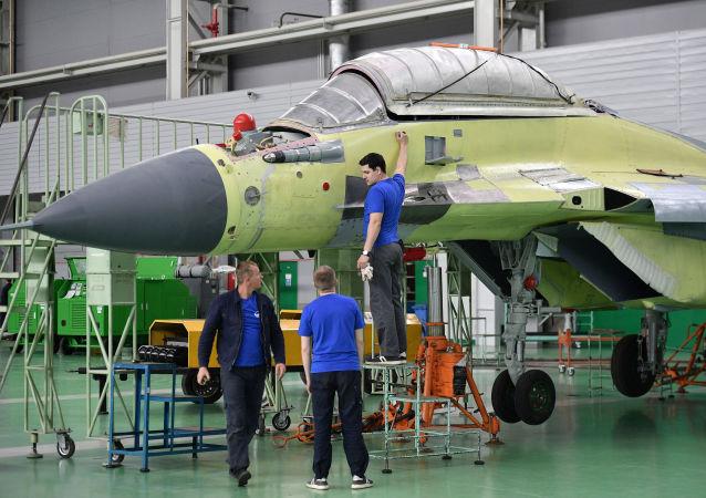 MiG uçaklarını üreten uçak fabrikası